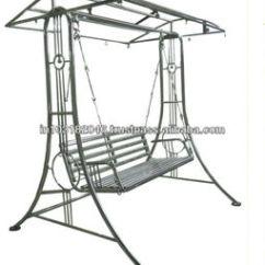 Swing Chair Metal Childrens Recliner Steel Buy Patio Stainless