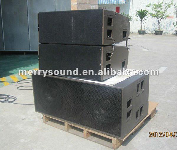 line array speakers used
