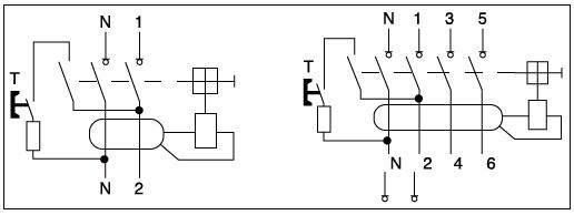 2 Pôles Id Modèle 16a-63a 230/400v Ac Rccb Elcb Rcd
