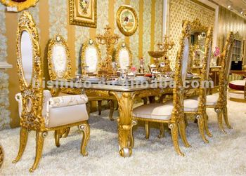 Luxury Home Dining Table SetEuropean Classical Dining