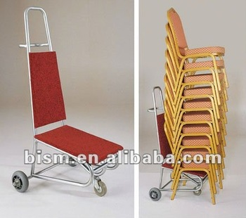 banquet chair trolley navy velvet cart view bism product details