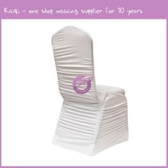 Ruched Spandex Chair Cover Best Fishing Bed Uk Yt09513 White Wedding Decor Wholesale Covers