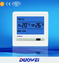 room management central air conditioner thermostat [ 1000 x 1000 Pixel ]