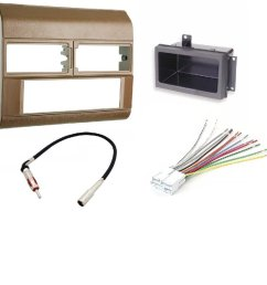 get quotations 1988 1996 chevrolet gmc color beige complete single din dash kit  [ 1000 x 1000 Pixel ]