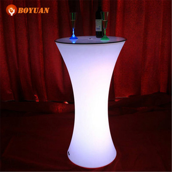 Pe Plastic Led Light Up Outdoor Furniturenight Club Led