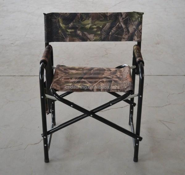 Tall Aluminum Folding Directors Chair