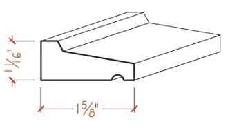 Wood Siding: Wood Siding Drip Cap