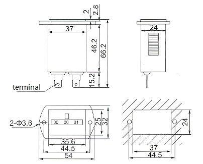 Quartz Timer Sys-1 Dc 12v 24v 36v 48v 60v 72v Mechanical