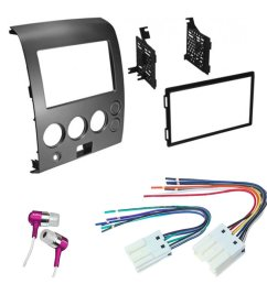 get quotations car cd stereo receiver dash install mounting kit wire harness nissan titan armada 2004 2007 [ 1000 x 1000 Pixel ]
