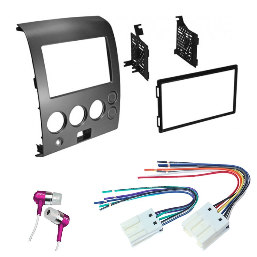 hight resolution of get quotations car cd stereo receiver dash install mounting kit wire harness nissan titan armada 2004 2007