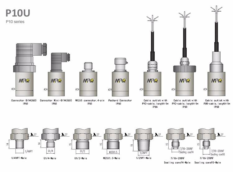 Mac 0-5v Arduino Pressure Sensor Pressure Transducer For