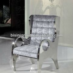 Alibaba Royal Chairs Bumbo Chair Recall American Style Sofa Furniture Modern Stainless Steel Bf10 M92