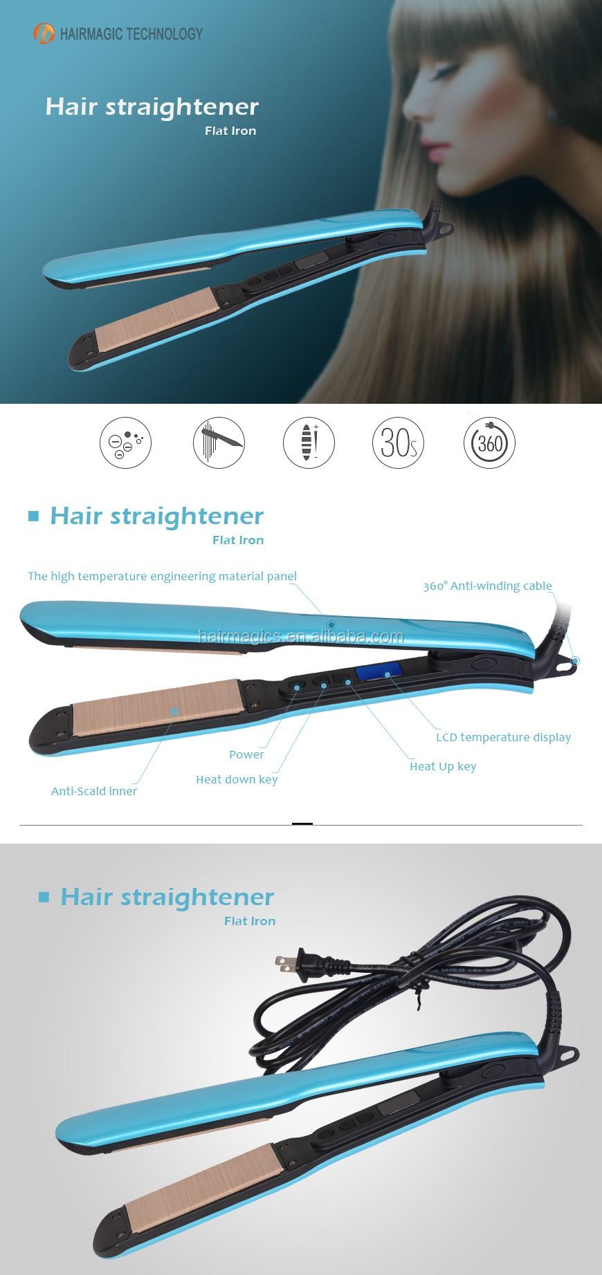 Professional Digital Display Mch Heating Dual Voltage Hair