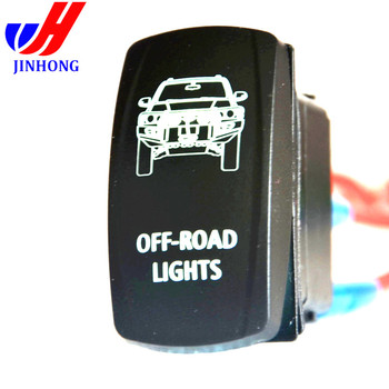 illuminated marine rocker switches oil pressure safety switch wiring diagram car rv labels dc12 volt with white light