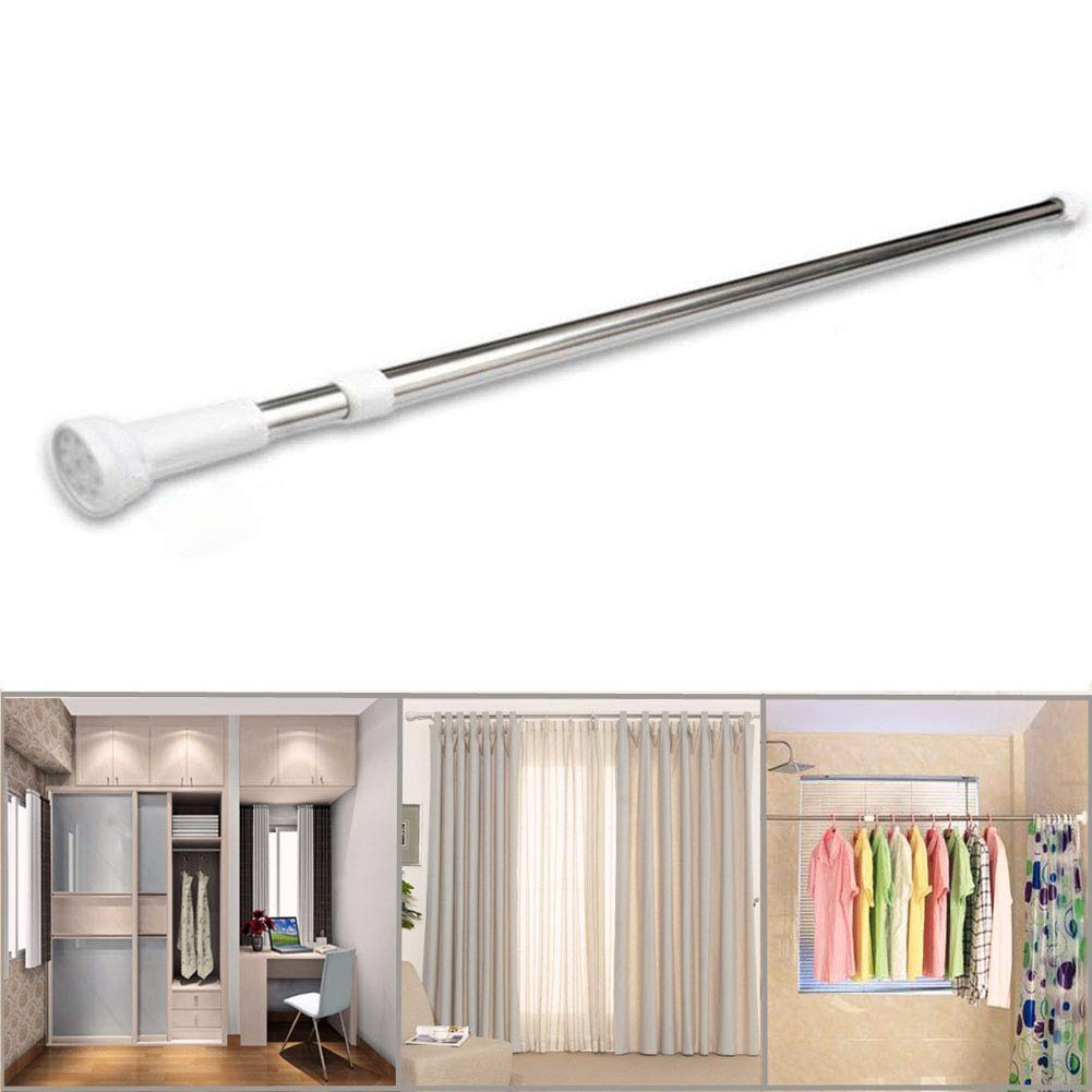 cheap extendable tension curtain rod