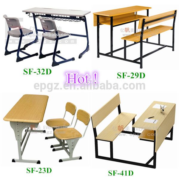 chair connected to desk wheelchair yoga double desks and kids chairs school