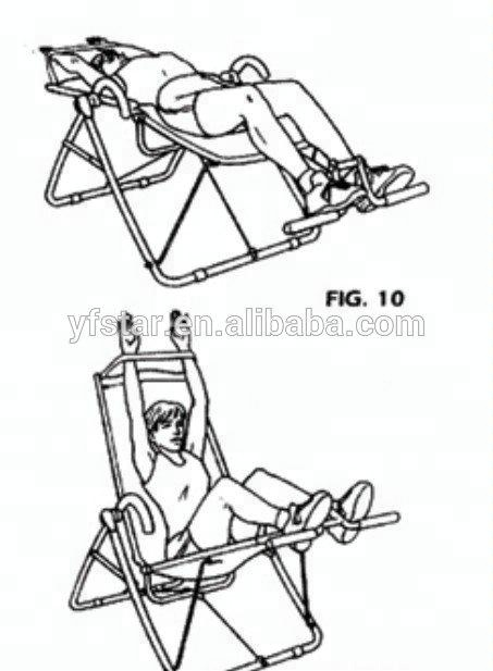 Home Gym Chair Manual Workout Exercise Chair Fitness Chair
