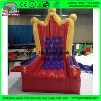 Colourful King Throne Inflatable Chair For Adults And Kids ...