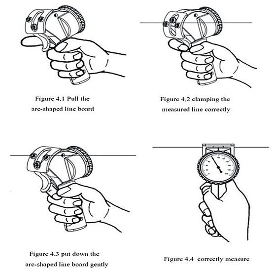 Tension Control Test Yokogawa Mechanical Yarn Tension