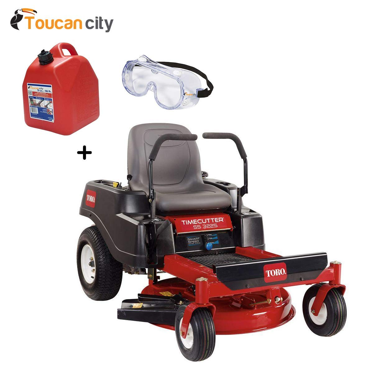 hight resolution of get quotations toucan city toro timecutter ss3225 32 in 452cc zero turn riding mower with smart