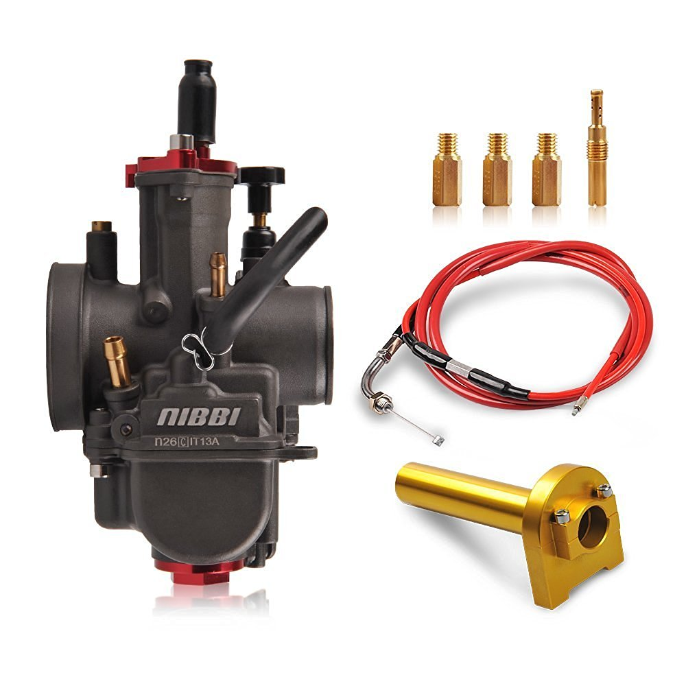 hight resolution of get quotations nibbi replacement carb jet kit pe pwk throttle cable air filter hand grip cnc for lifan