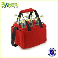 Neoprene Tote 6 Pack Beer Bottle Holder