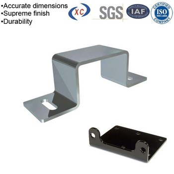 Oem Different Steel Bracketsu Shape Metal Stamping