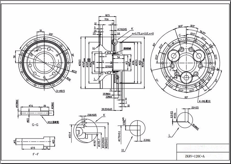 Rv Principle Nabtesco Motion Control Rv-e Series Gearbox
