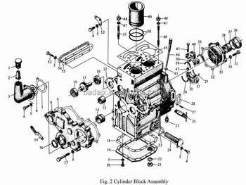 Jinma Tractor Ty290 Diesel Engine Parts & Jinma Tractor