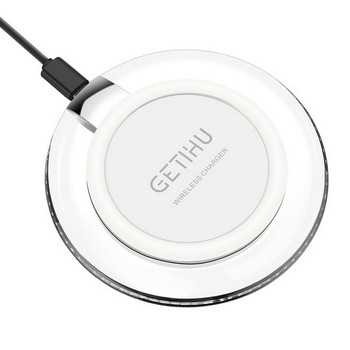 New Qi Magnetic Induction Wireless Charger Fast Charging