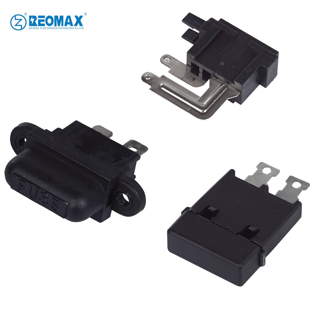 hight resolution of panel mount auto blade fuse holder