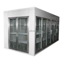 Glass Door Walk In Cooler With Entrance Door - Buy Glass ...