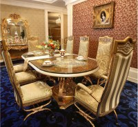 Luxury French Baroque Style Home Dining Room Sets/ Antique ...