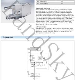 landsky rap 100 110 de vmp g3 8 hydraulic external double acting plough [ 1000 x 1397 Pixel ]