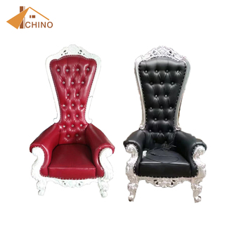 alibaba royal chairs mexican restaurant hot sell silver throne luxury wedding chair sale buy