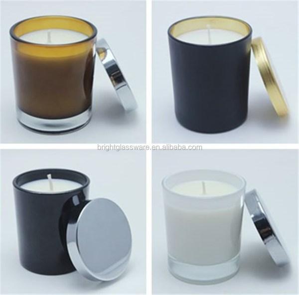 Ecoya 15oz And 12oz Glass House Ware Jar Candle Holder