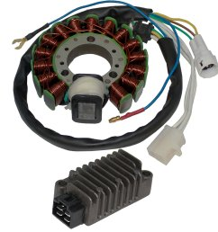 get quotations caltric stator regulator rectifier fits yamaha 225 xt225 xt 225 2001 2007 [ 1500 x 1500 Pixel ]