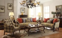 American Classic Wooden Fabric Sofa Set/living Room Sofa ...
