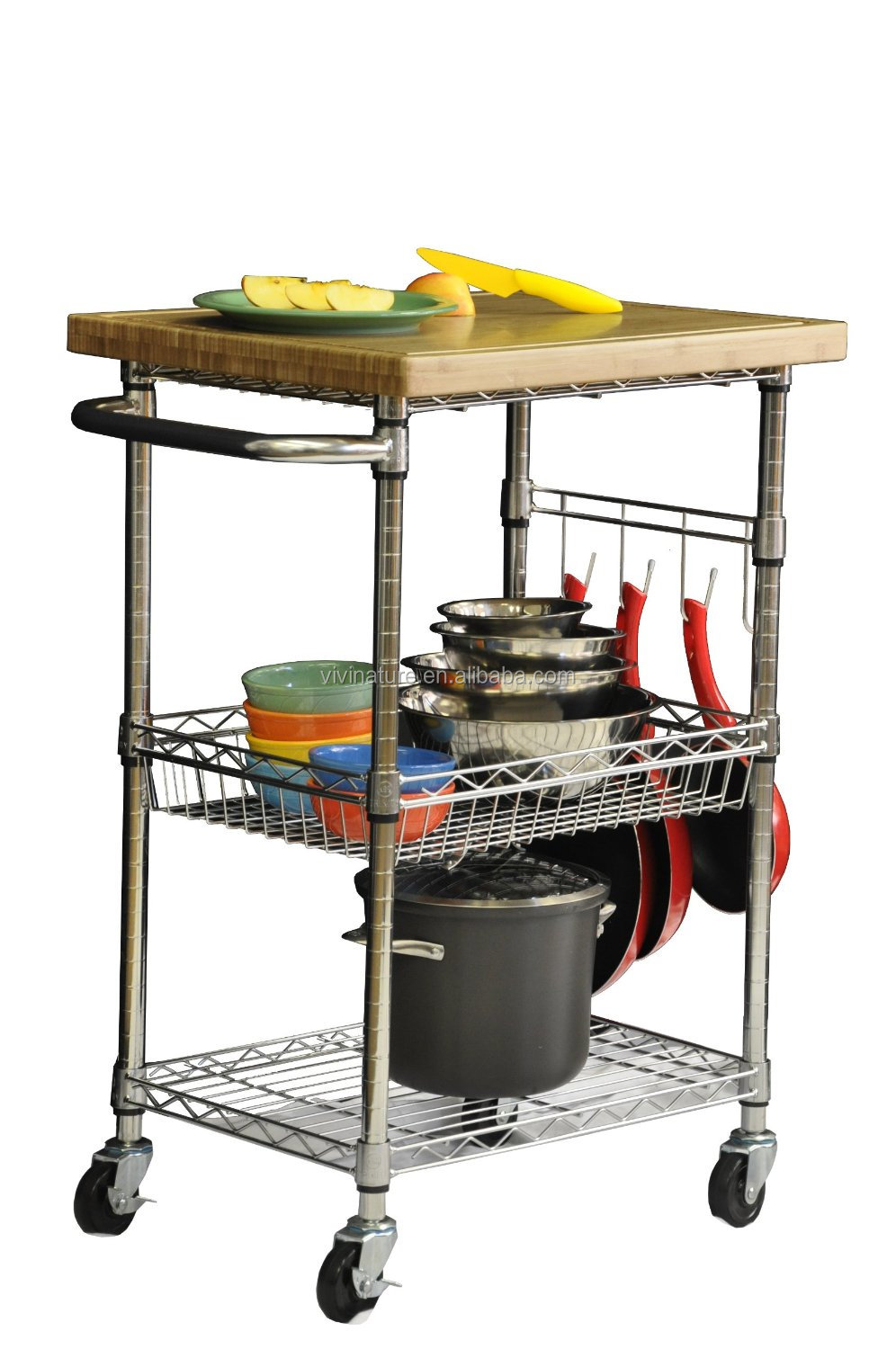 rolling kitchen carts building outdoor tier metal storage cart on wheels 26 5 great organizer for