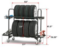 List Manufacturers of Mobile Tire Rack, Buy Mobile Tire ...
