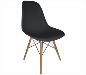black plastic chair with wooden legs card table and set menards modern buy