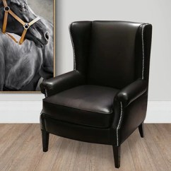 Designer Chairs For Living Room Retro N513 Accent Furniture Modern Wholesale Leather Single Sofa Chair