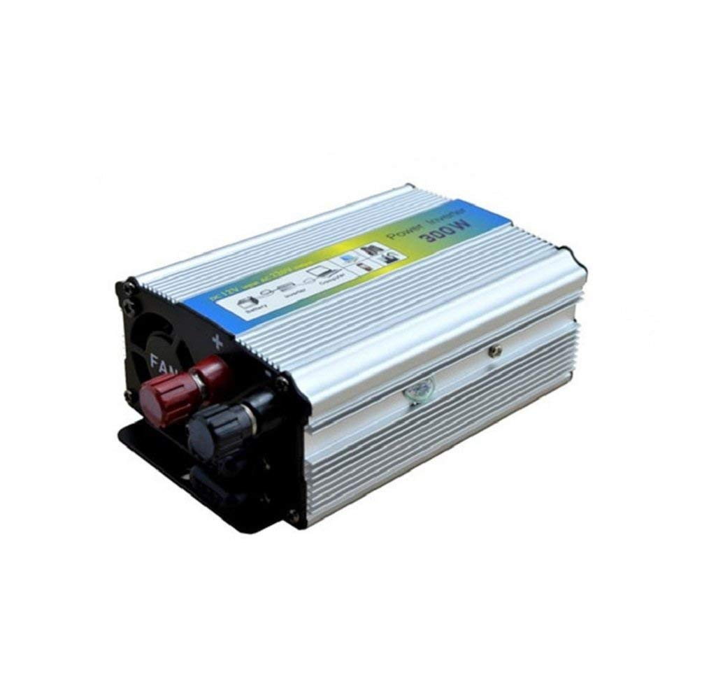 hight resolution of get quotations auto power inverter power converter inverter power supply silver power inverter 300 w dc