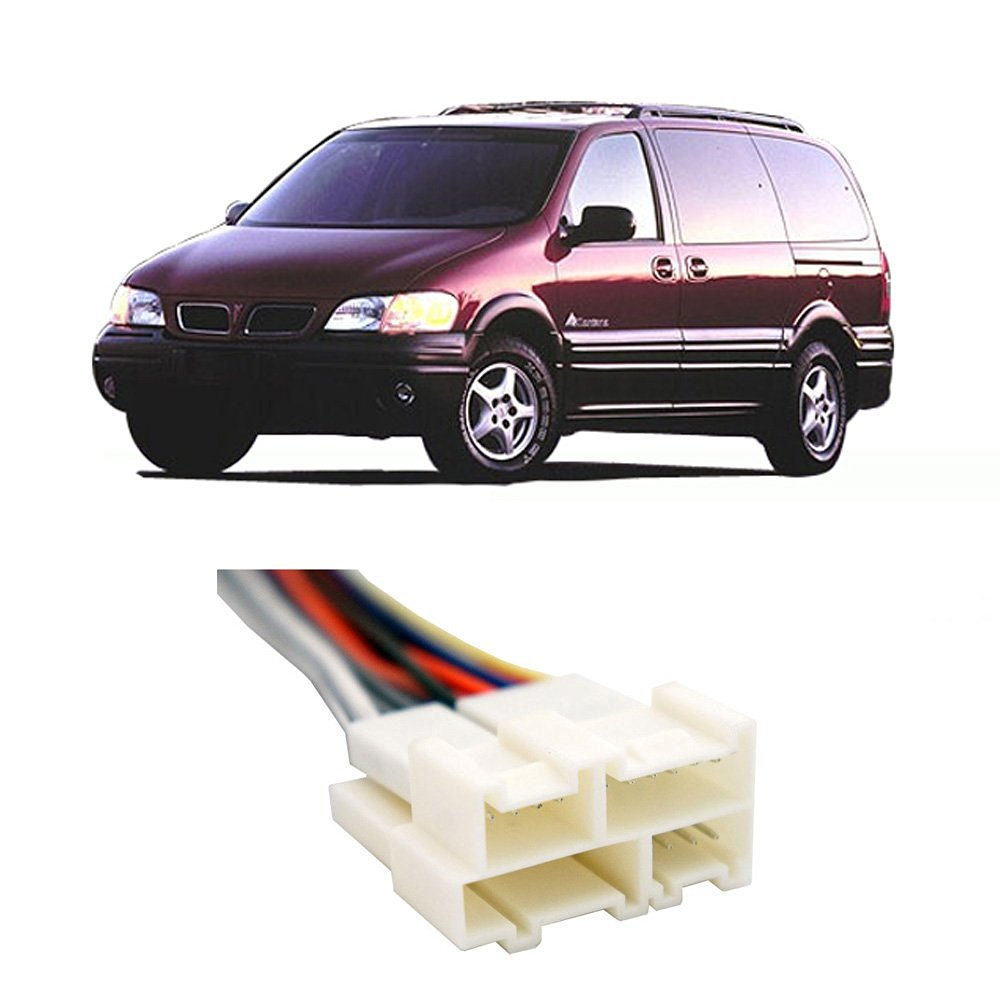 medium resolution of get quotations pontiac montana 1999 factory stereo to aftermarket radio install harness adapter