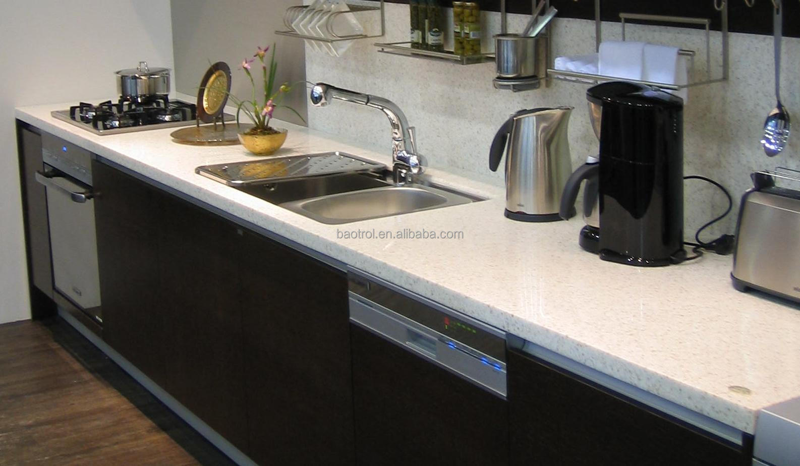 kitchen table top with built in bench high gloss and waterproof buy