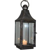 Wholesale Antique Metal Candle Holder Lantern For Home