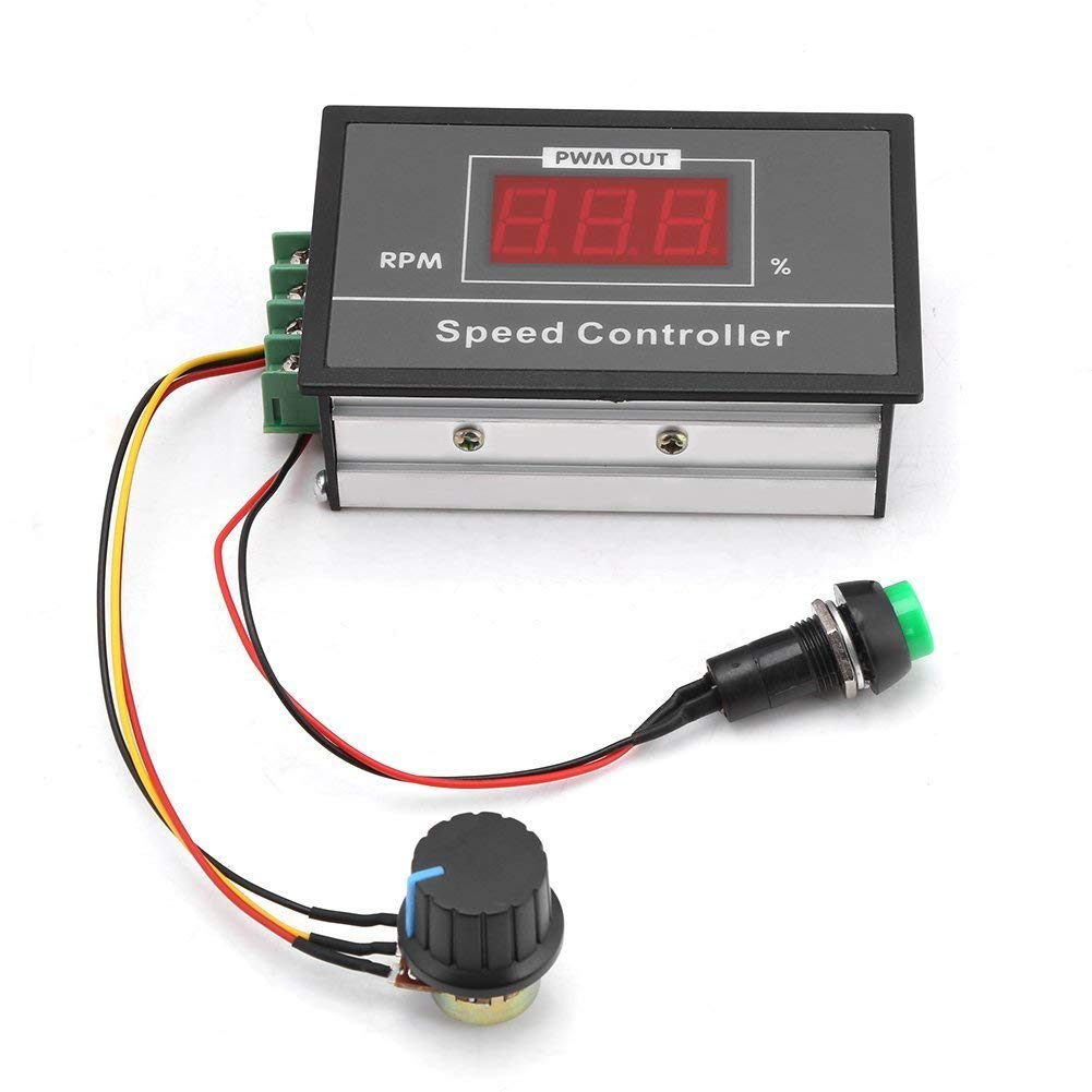 hight resolution of get quotations pwm fan controller 6 60v dc motor speed controller pwm dimmer