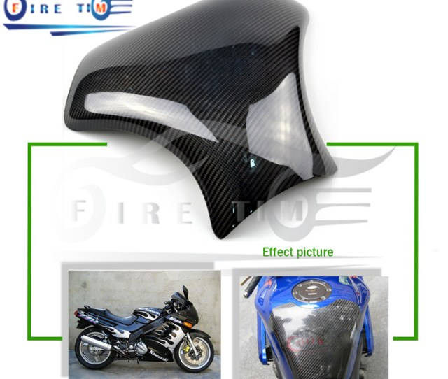 Get Quotations  C2 B7 2015 Motorcycle Accessories Rear Carbon Fiber Motorcycle Carbon Fiber Fuel Gas Tank Protector Pad For Suzuki