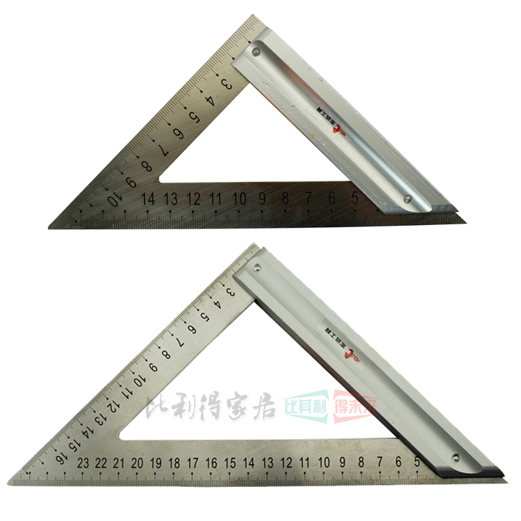 Buy Hongyuan Stainless Steel Triangle Ruler Triangle Design Architectural Drawings For Carpentry Gussets 90 Degree Angle Ruler In Cheap Price On Alibaba Com