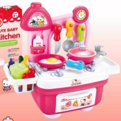 Little Girl Kitchen Sets Pot Hangers Kindergarten Toys Kids Toy For Wholesale